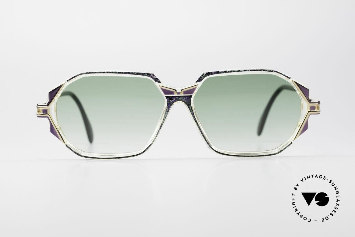 Cazal 361 Original Damen Designerbrille, tolle Gestaltung der Bügelgelenke & Rahmenmuster, Passend für Damen