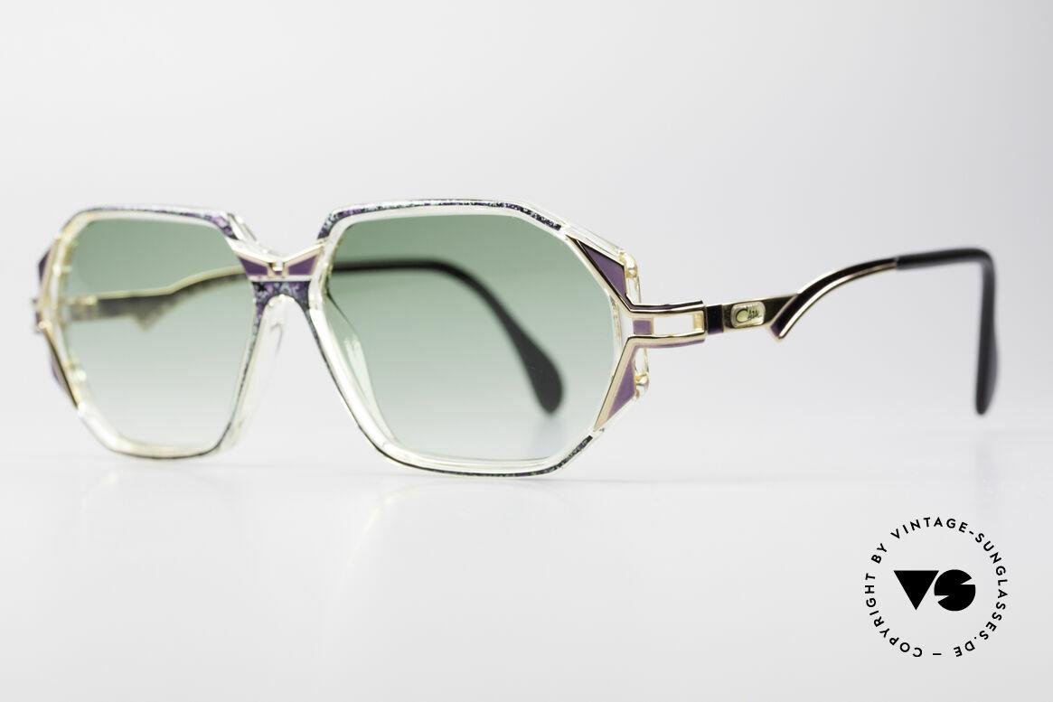 Cazal 361 Original Damen Designerbrille, zauberhafte Kombination aus Materialien & Farben, Passend für Damen