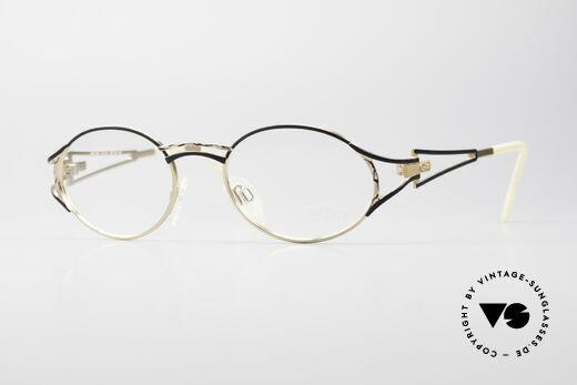 Cazal 285 Runde Ovale Vintage Brille Details