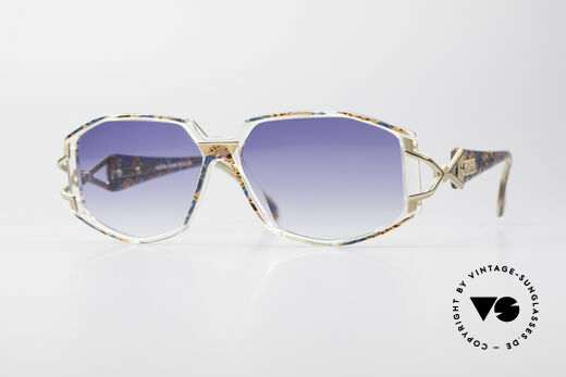 Cazal 368 90er Hip Hop Old School Brille Details