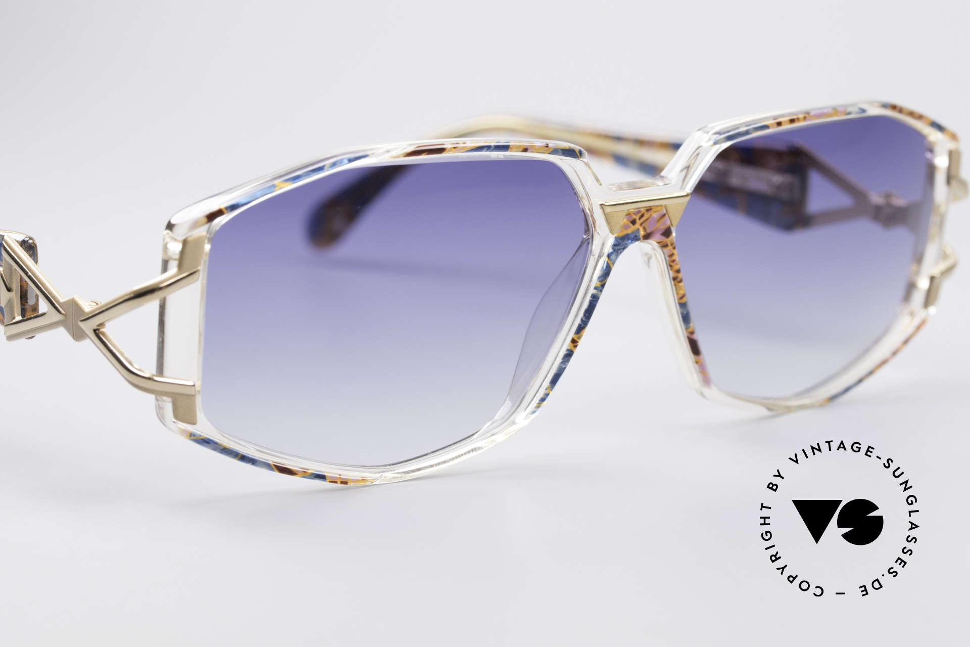 Cazal 368 90er Hip Hop Old School Brille, ungetragen (wie alle unsere vintage Designer-Brillen), Passend für Damen