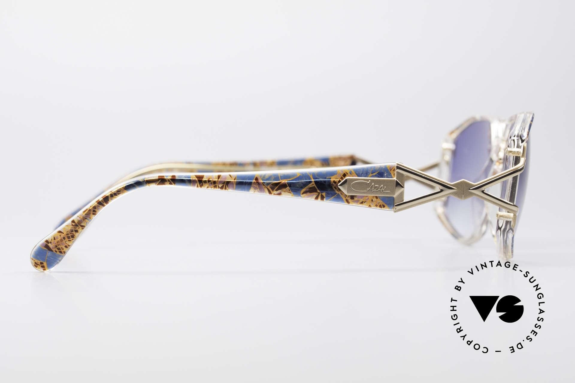 Cazal 368 90er Hip Hop Old School Brille, KEINE Retrobrille, sondern ein echtes altes Original, Passend für Damen