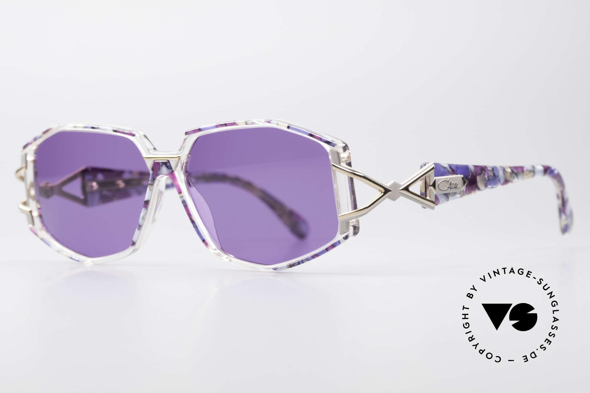 Cazal 368 90er Sonnenbrille Hip Hop Style, Verarbeitung und Haltbarkeit auf höchstem Niveau, Passend für Damen
