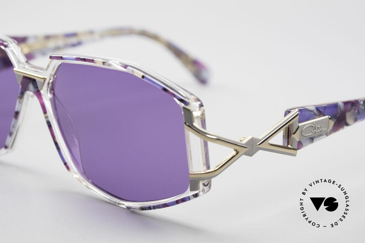 Cazal 368 90er Sonnenbrille Hip Hop Style, aufwändige & originelle Kolorierung = typisch Cazal, Passend für Damen