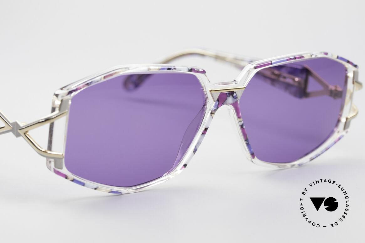 Cazal 368 90er Sonnenbrille Hip Hop Style, ungetragen (wie alle unsere vintage Designer-Brillen), Passend für Damen