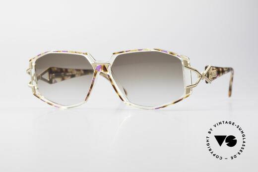 Cazal 368 Designerbrille Hip Hop Style Details