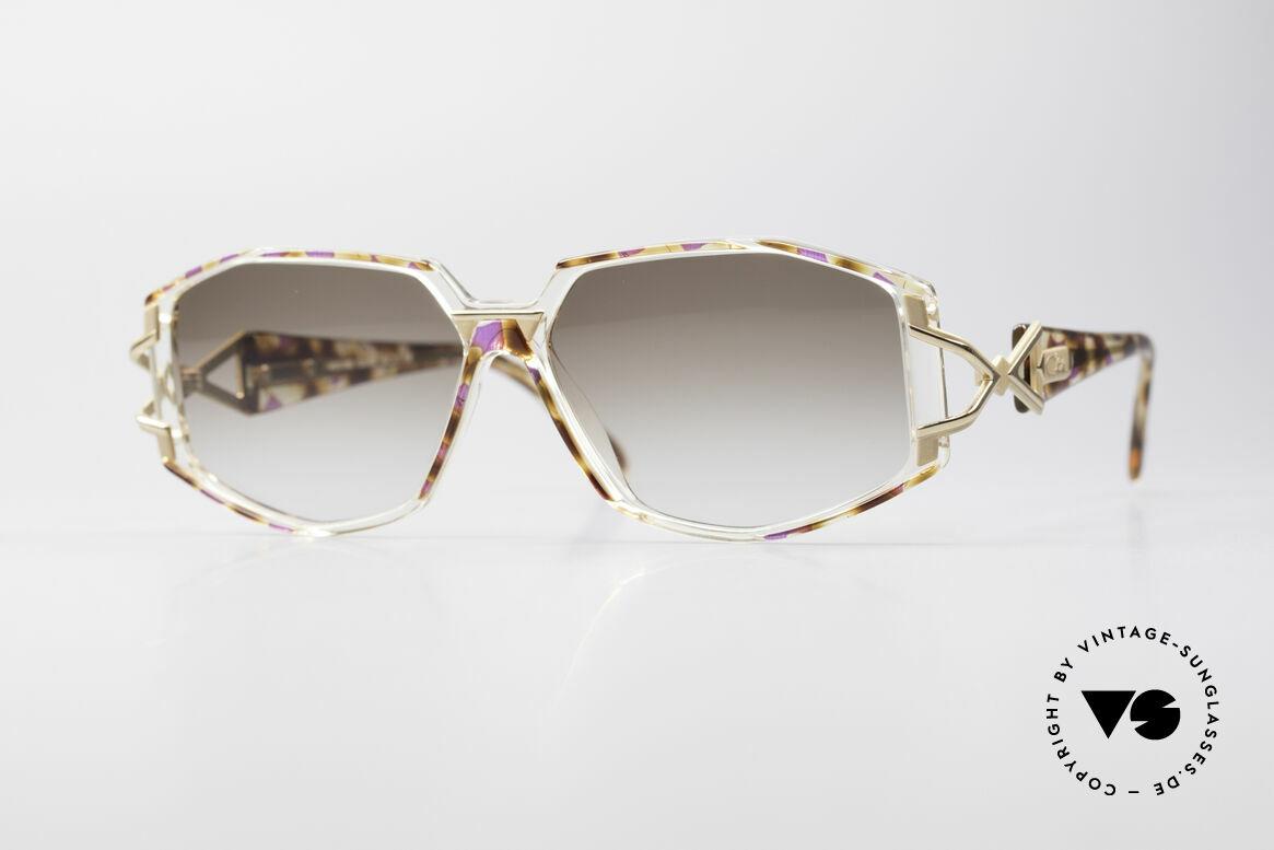 Cazal 368 Designerbrille Hip Hop Style, schmuckvolles Cazal Design der frühen 90er Jahre, Passend für Damen