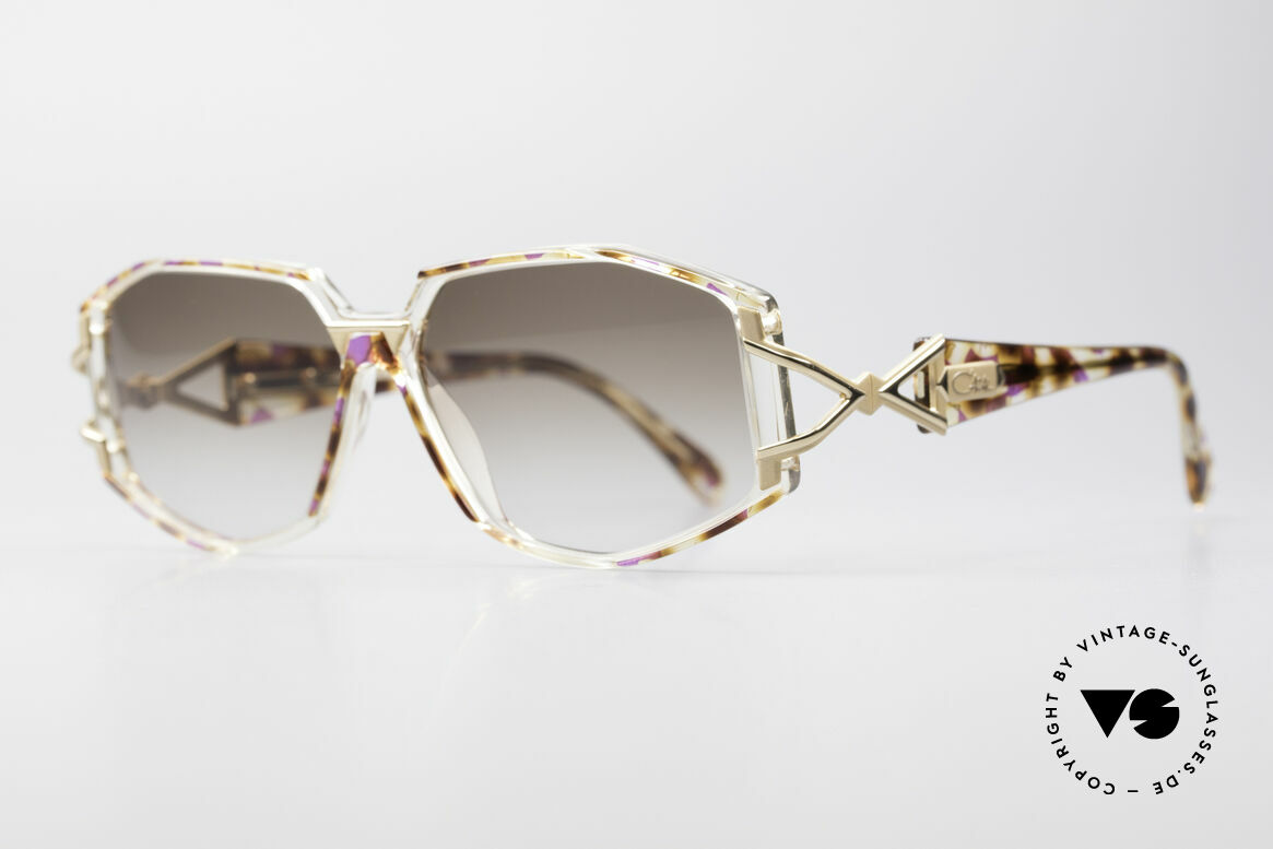 Cazal 368 Designerbrille Hip Hop Style, Verarbeitung und Haltbarkeit auf höchstem Niveau, Passend für Damen