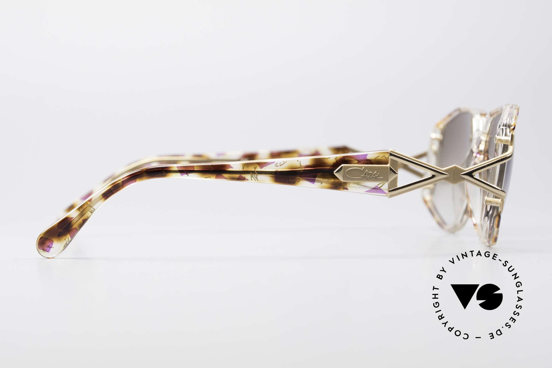 Cazal 368 Designerbrille Hip Hop Style, KEINE Retrobrille, sondern ein echtes altes Original, Passend für Damen