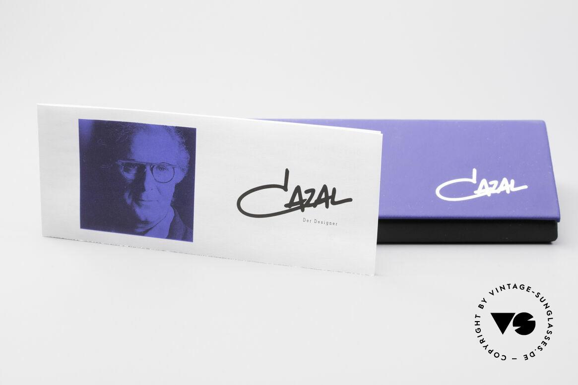 Cazal 368 Designerbrille Hip Hop Style, die Fassung ist für optische (Sonnen)gläser geeignet, Passend für Damen