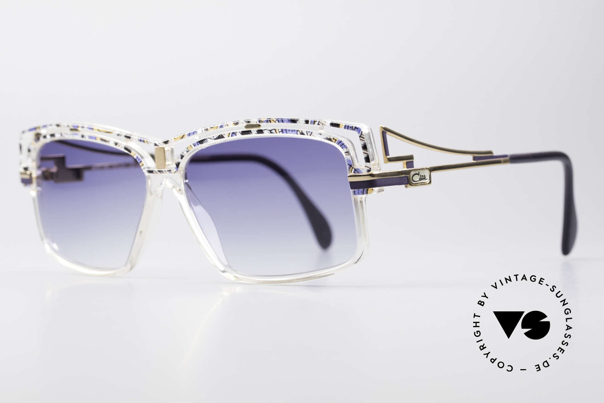 Cazal 365 Vintage 90er Hip Hop Brille, Verarbeitung & Haltbarkeit 'frame made in Germany', Passend für Herren und Damen