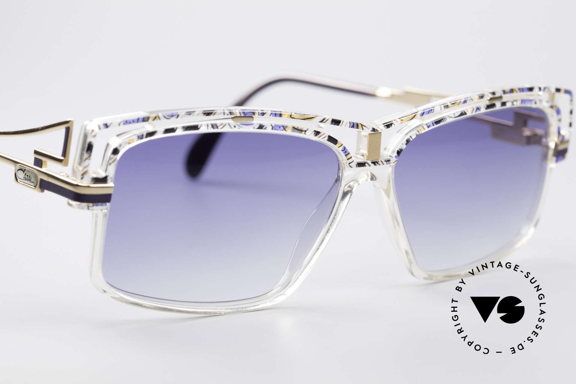 Cazal 365 Vintage 90er Hip Hop Brille, ungetragen (wie alle unsere VINTGE Cazal Brillen), Passend für Herren und Damen