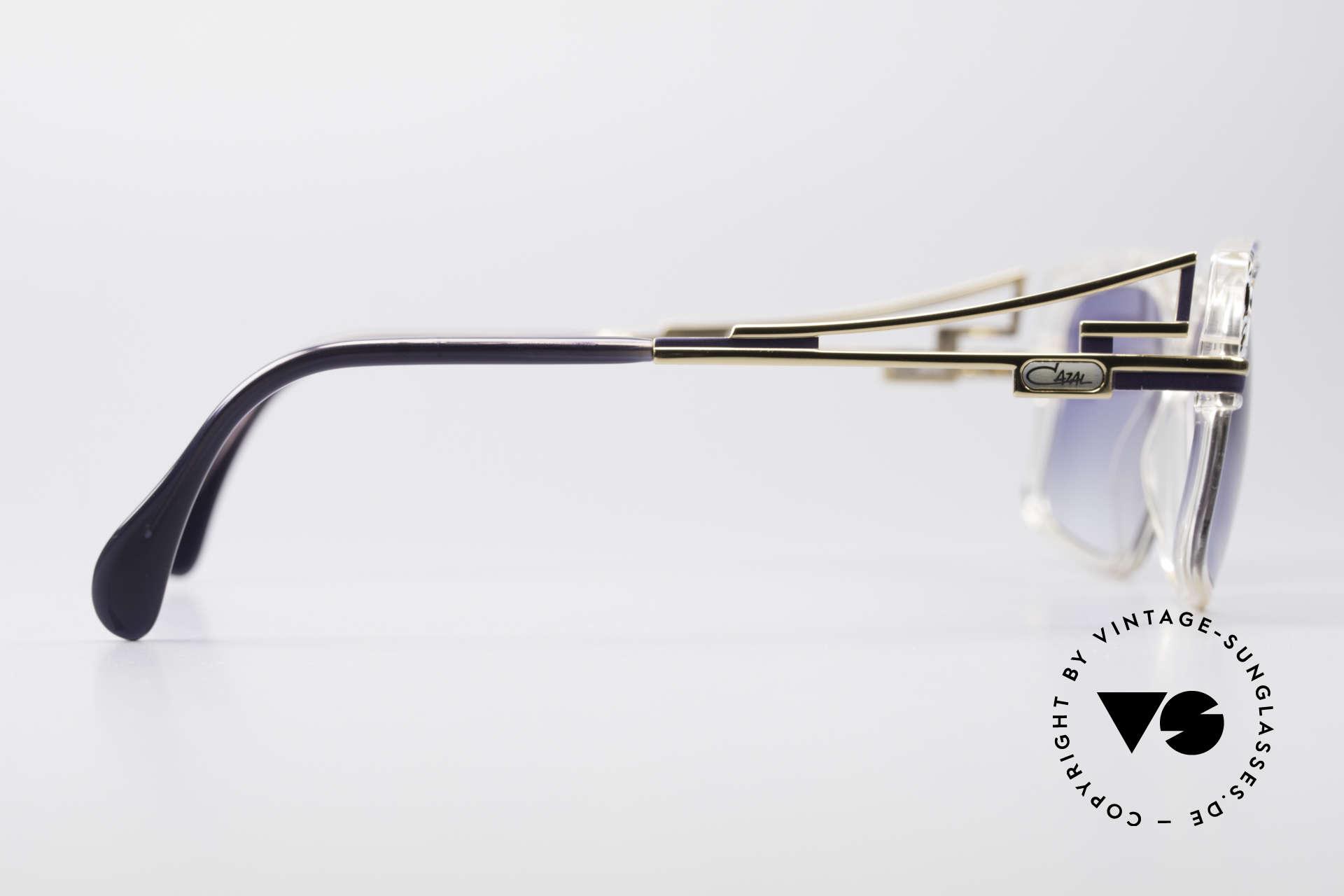 Cazal 365 Vintage 90er Hip Hop Brille, KEINE Retrobrille, sondern ein echtes 90er Original, Passend für Herren und Damen