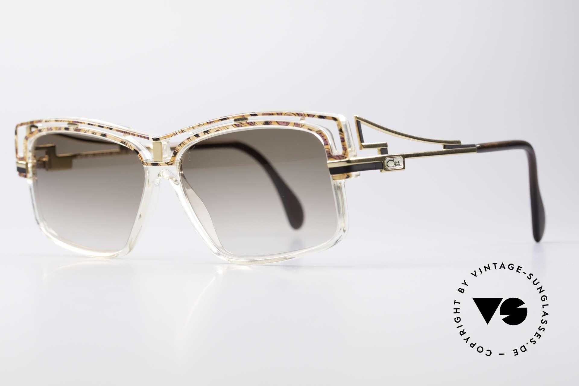 Cazal 365 Vintage No Retro Sonnenbrille, Verarbeitung & Haltbarkeit 'frame made in Germany', Passend für Herren und Damen