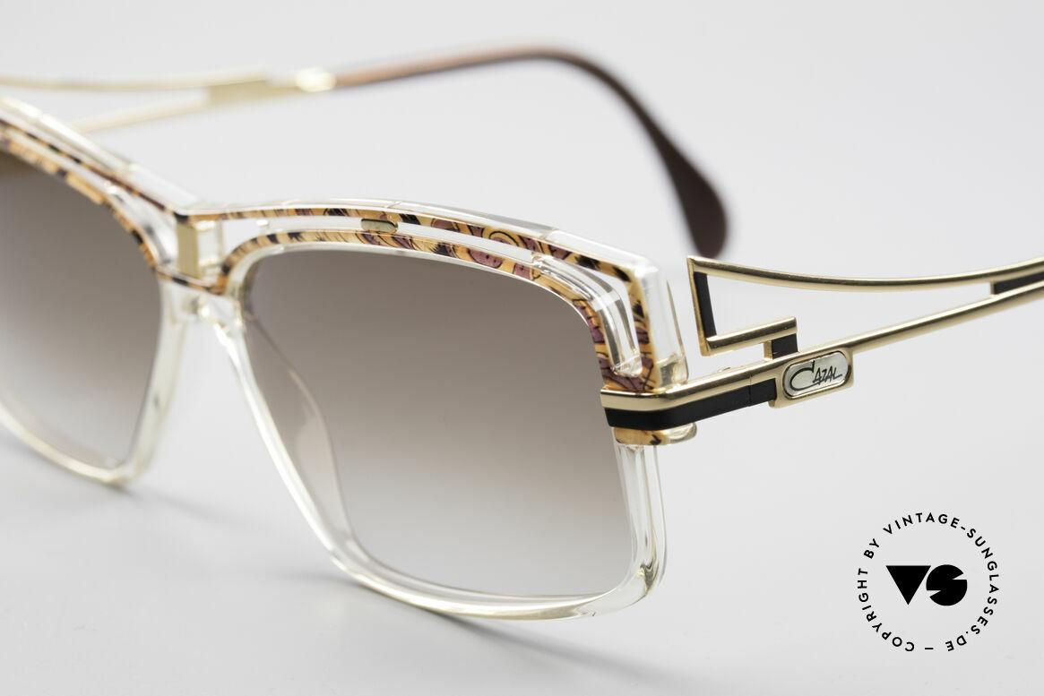 Cazal 365 Vintage No Retro Sonnenbrille, markanter ausdrucksstarker Rahmen, Hip-Hop Brille, Passend für Herren und Damen