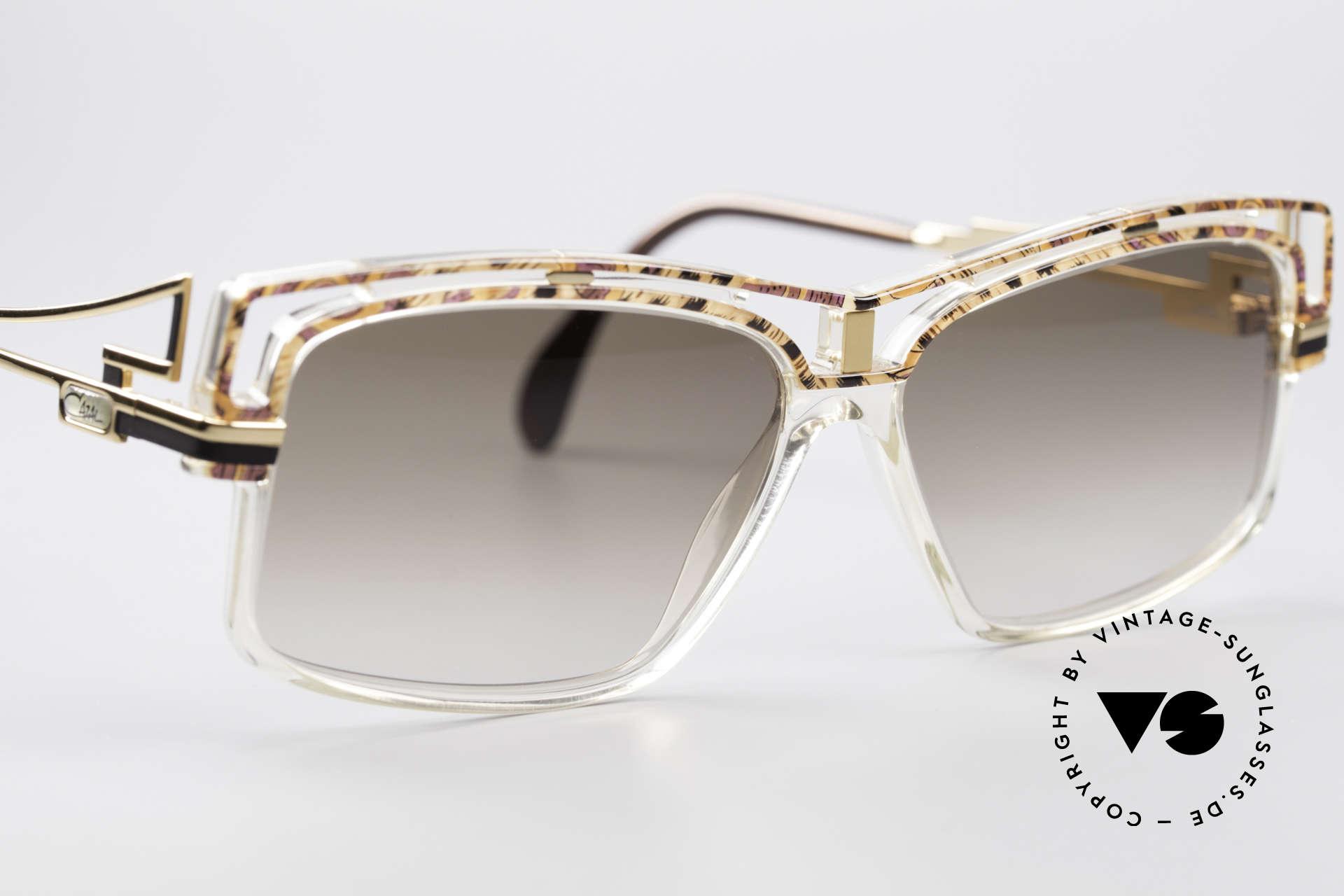 Cazal 365 Vintage No Retro Sonnenbrille, ungetragen (wie alle unsere vintage CAZAL Brillen), Passend für Herren und Damen