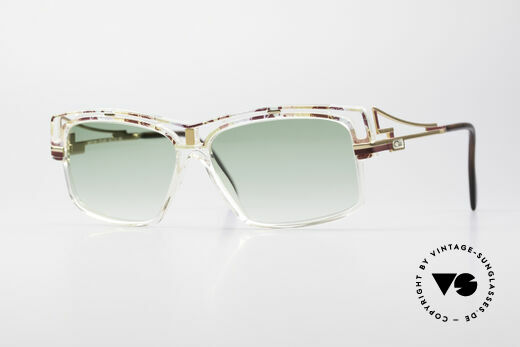 Cazal 365 No Retro 90er Hip Hop Brille Details
