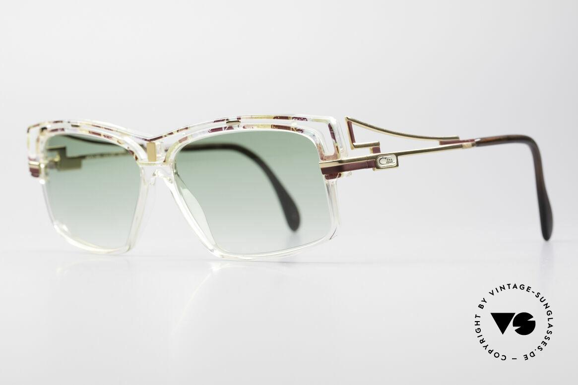 Cazal 365 No Retro 90er Hip Hop Brille, Verarbeitung & Haltbarkeit 'frame made in Germany', Passend für Herren und Damen