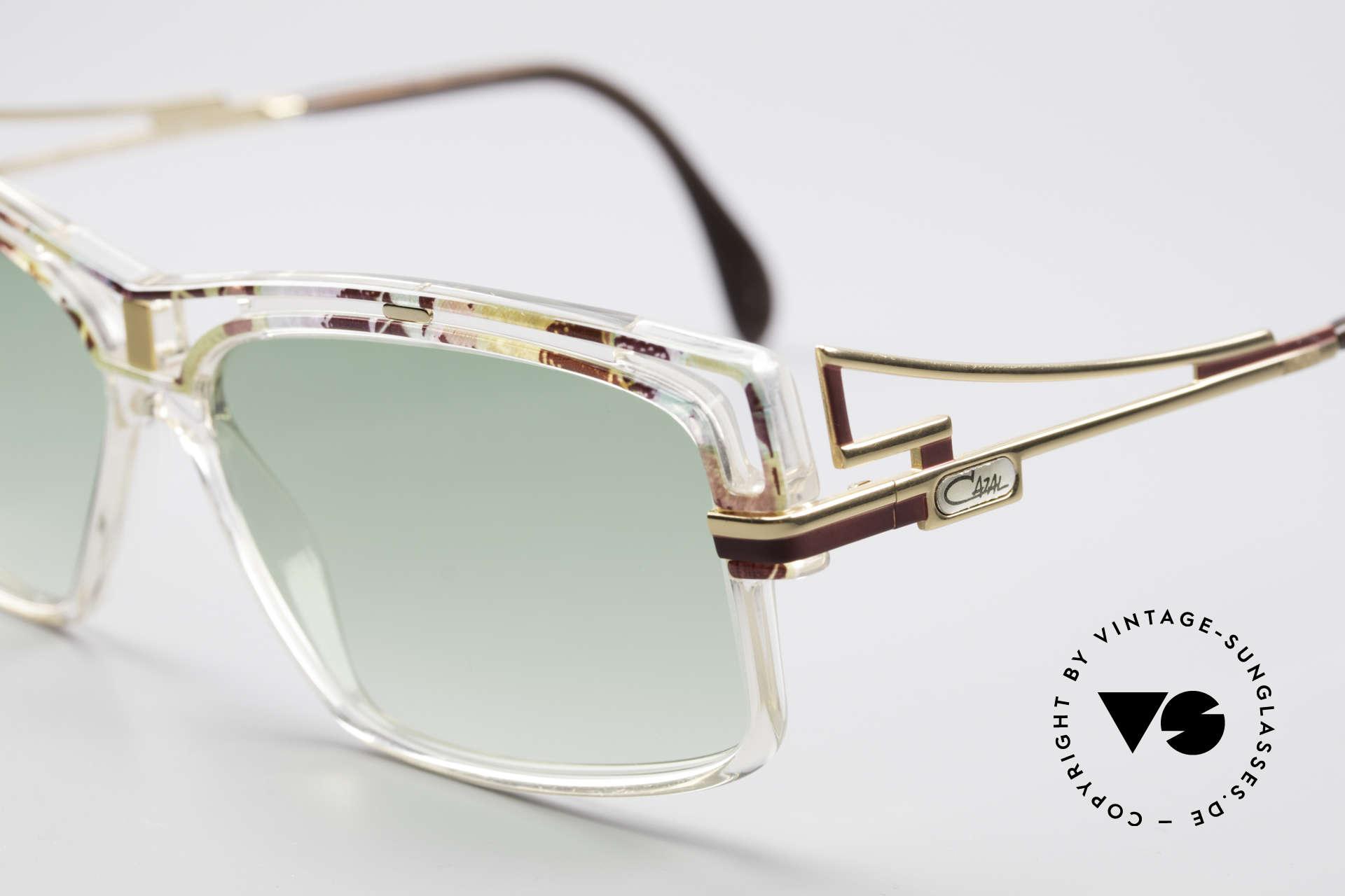 Cazal 365 No Retro 90er Hip Hop Brille, markanter ausdrucksstarker Rahmen, Hip-Hop Brille, Passend für Herren und Damen
