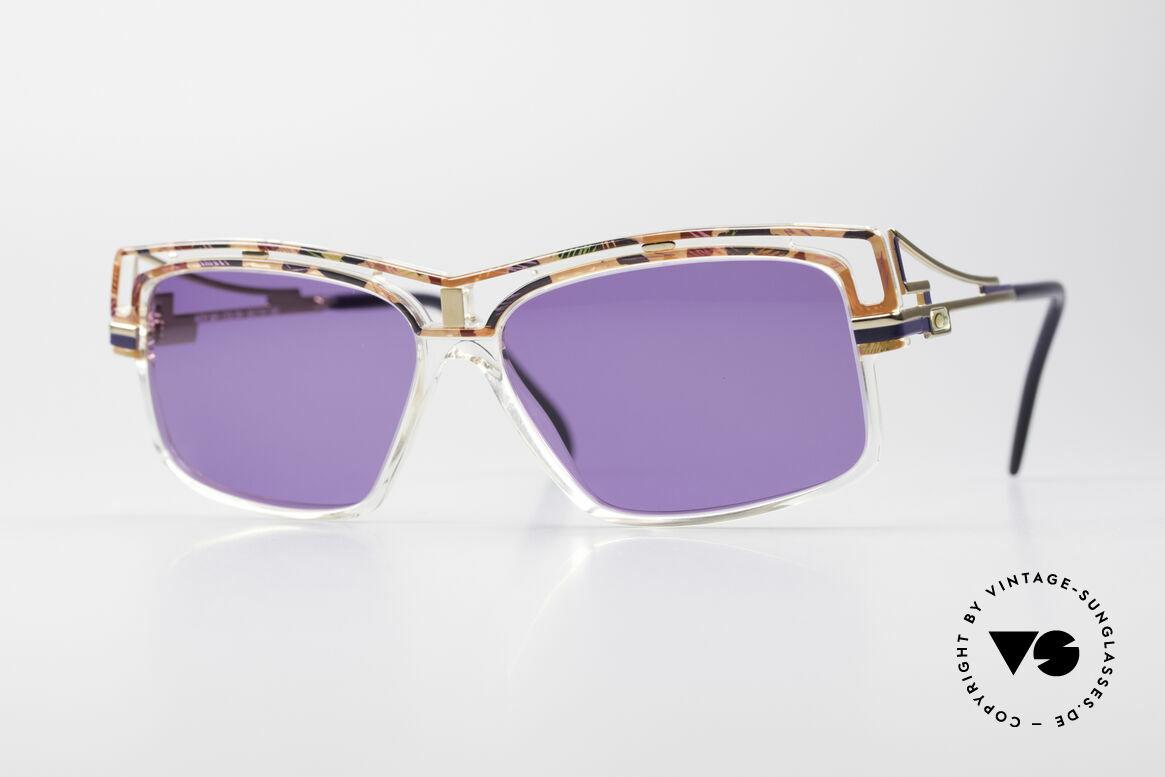 Cazal 365 No Retrobrille Echt Vintage 90er, markante Cazal vintage Sonnenbrille aus den 90ern, Passend für Herren und Damen