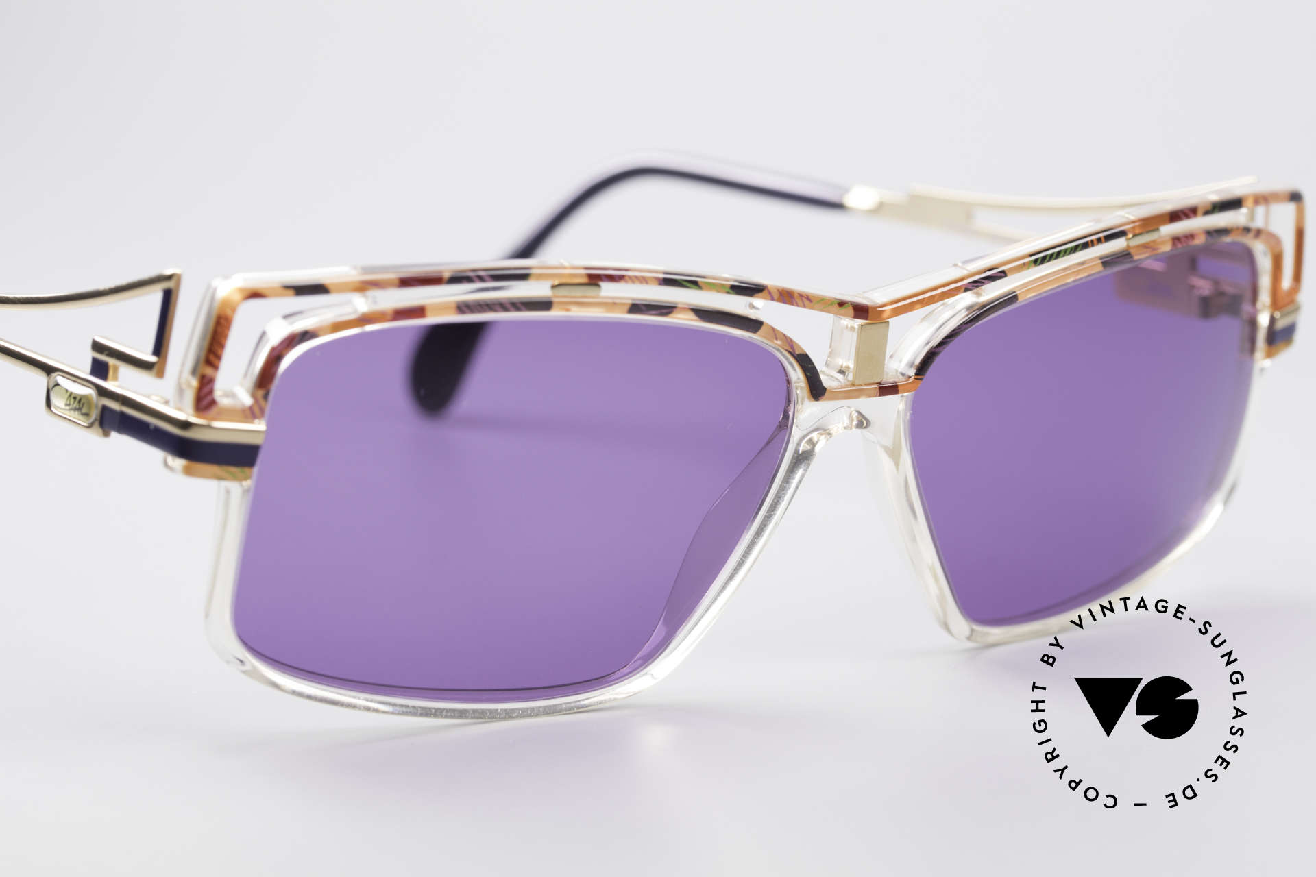 Cazal 365 No Retrobrille Echt Vintage 90er, ungetragen (wie alle unsere vintage CAZAL Brillen), Passend für Herren und Damen