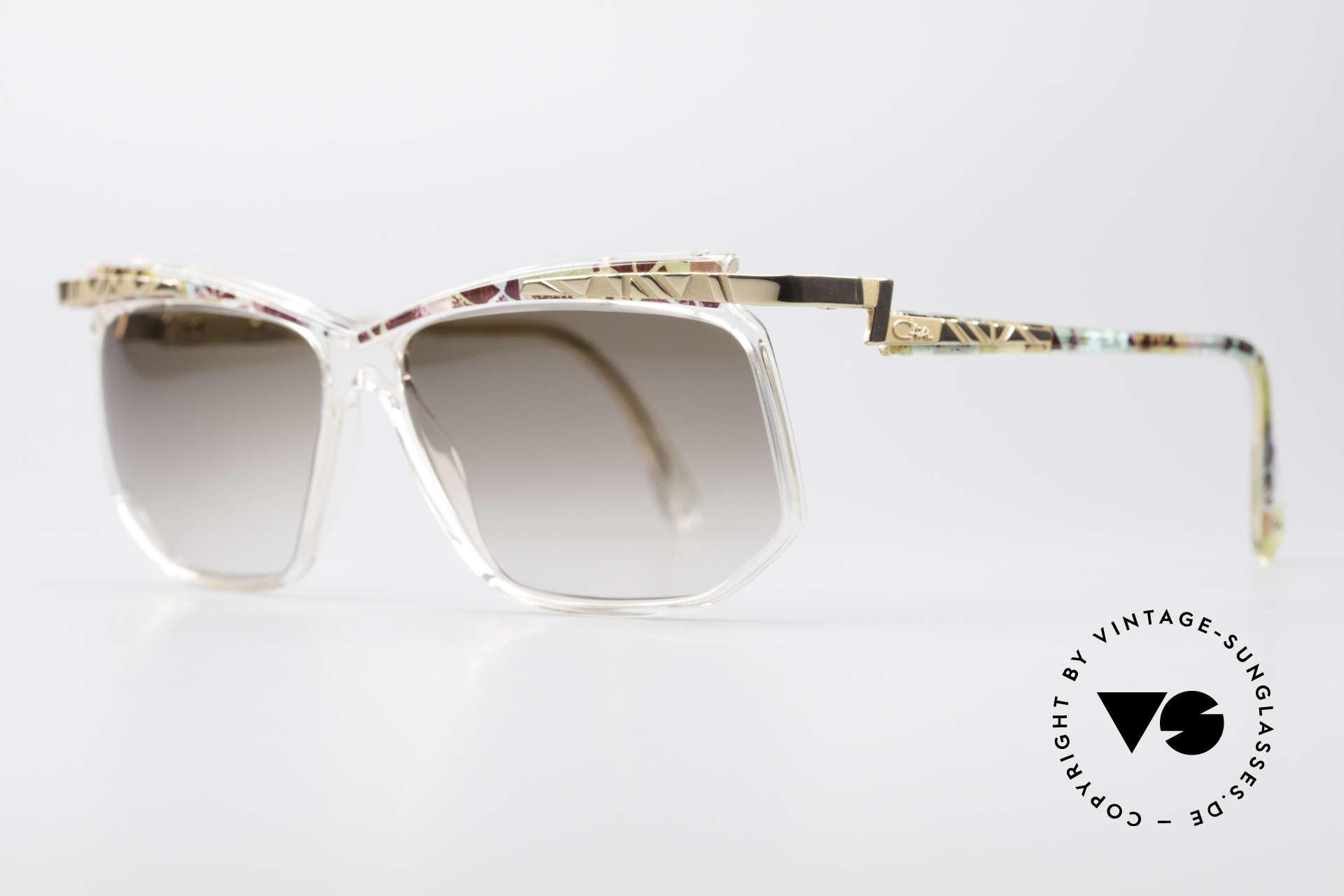 Cazal 366 Vintage 90er Hip Hop Brille, in Passau gefertigt - daher auch 'FRAME GERMANY', Passend für Herren und Damen