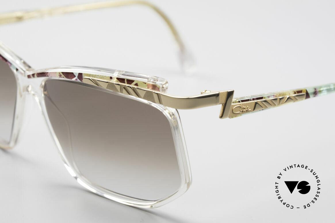 Cazal 366 Vintage 90er Hip Hop Brille, damals ein fester Bestandteil der US HIP-HOP-Szene, Passend für Herren und Damen