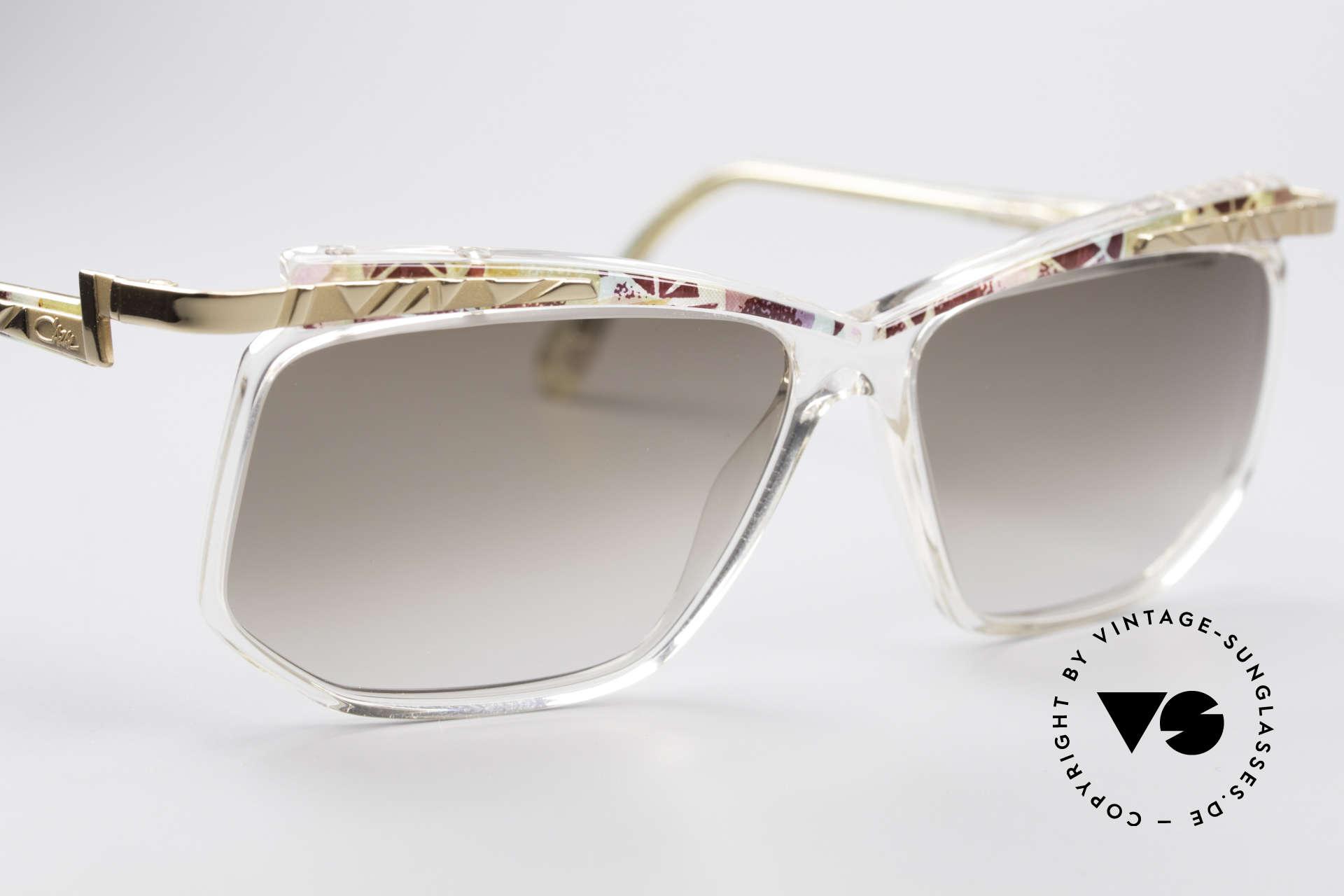 Cazal 366 Vintage 90er Hip Hop Brille, ungetragen; wie alle unsere alten Cazal vintage Brillen, Passend für Herren und Damen