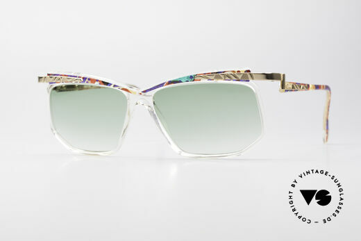 Cazal 366 Vintage Sonnenbrille Hip Hop Details