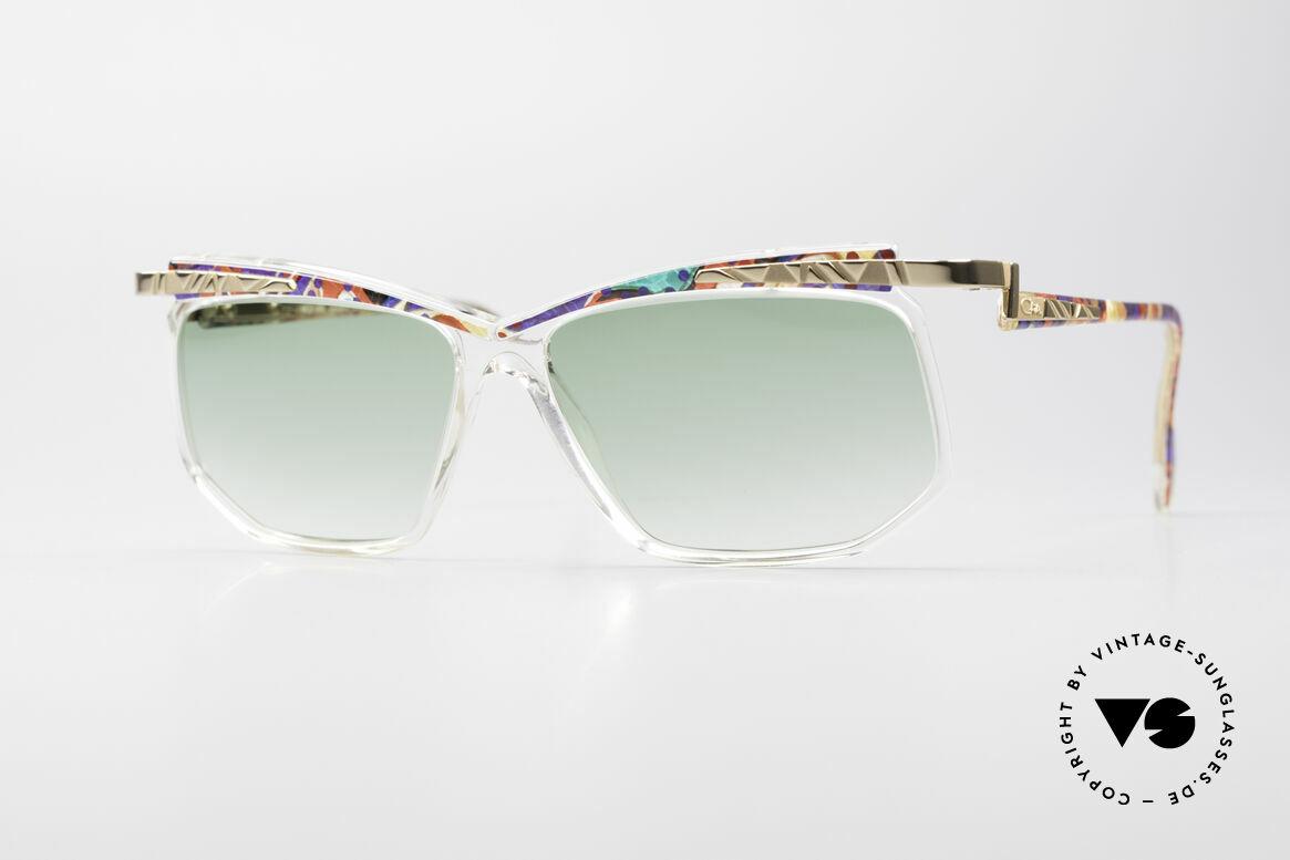 Cazal 366 Vintage Sonnenbrille Hip Hop, vintage CAZAL Sonnenbrille aus dem Jahre 1996, Passend für Herren und Damen