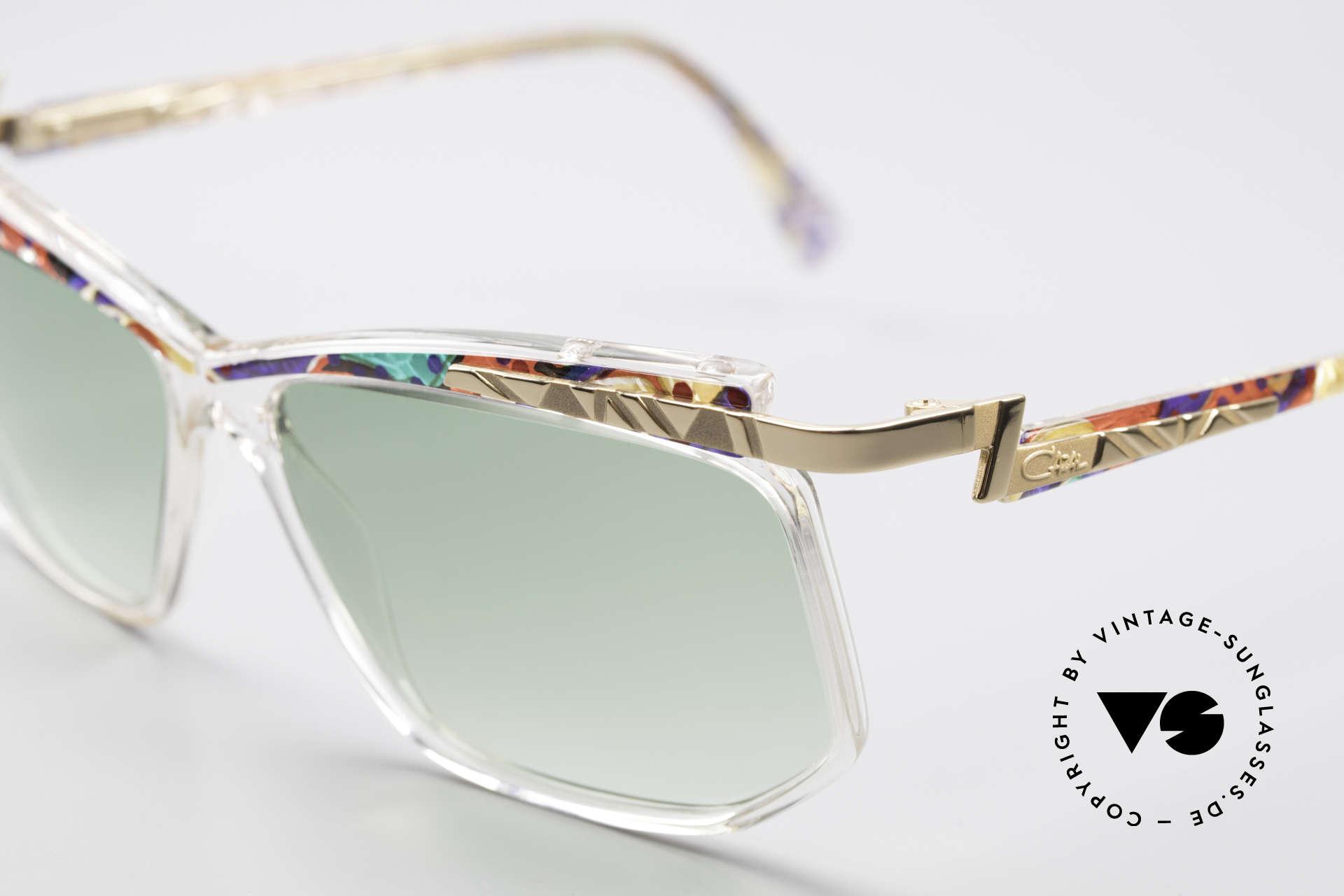 Cazal 366 Vintage Sonnenbrille Hip Hop, damals fester Bestandteil der US Hip-Hop-Szene, Passend für Herren und Damen