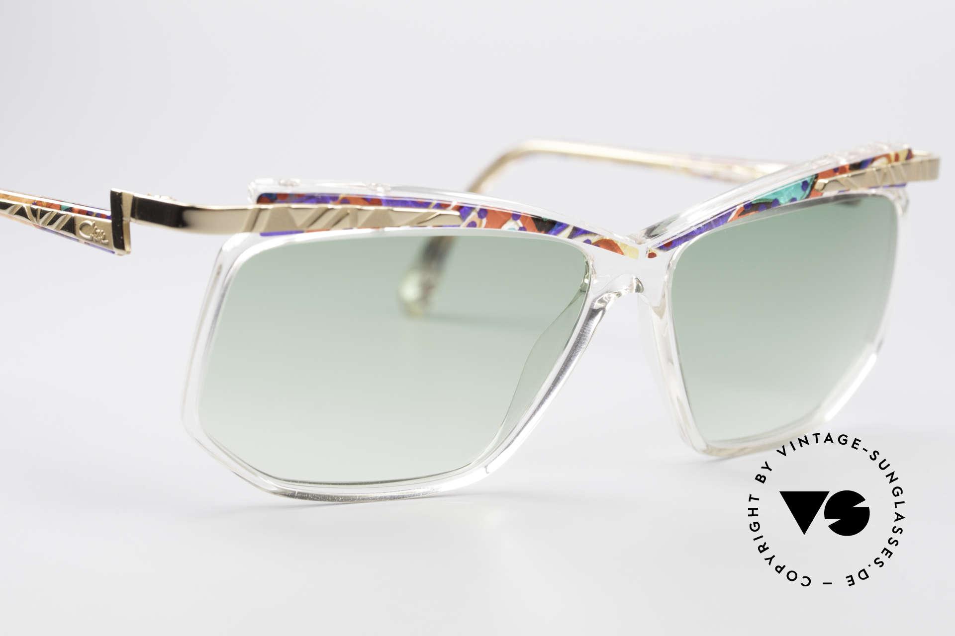 Cazal 366 Vintage Sonnenbrille Hip Hop, ungetragen (wie alle unsere alten CAZAL Brillen), Passend für Herren und Damen
