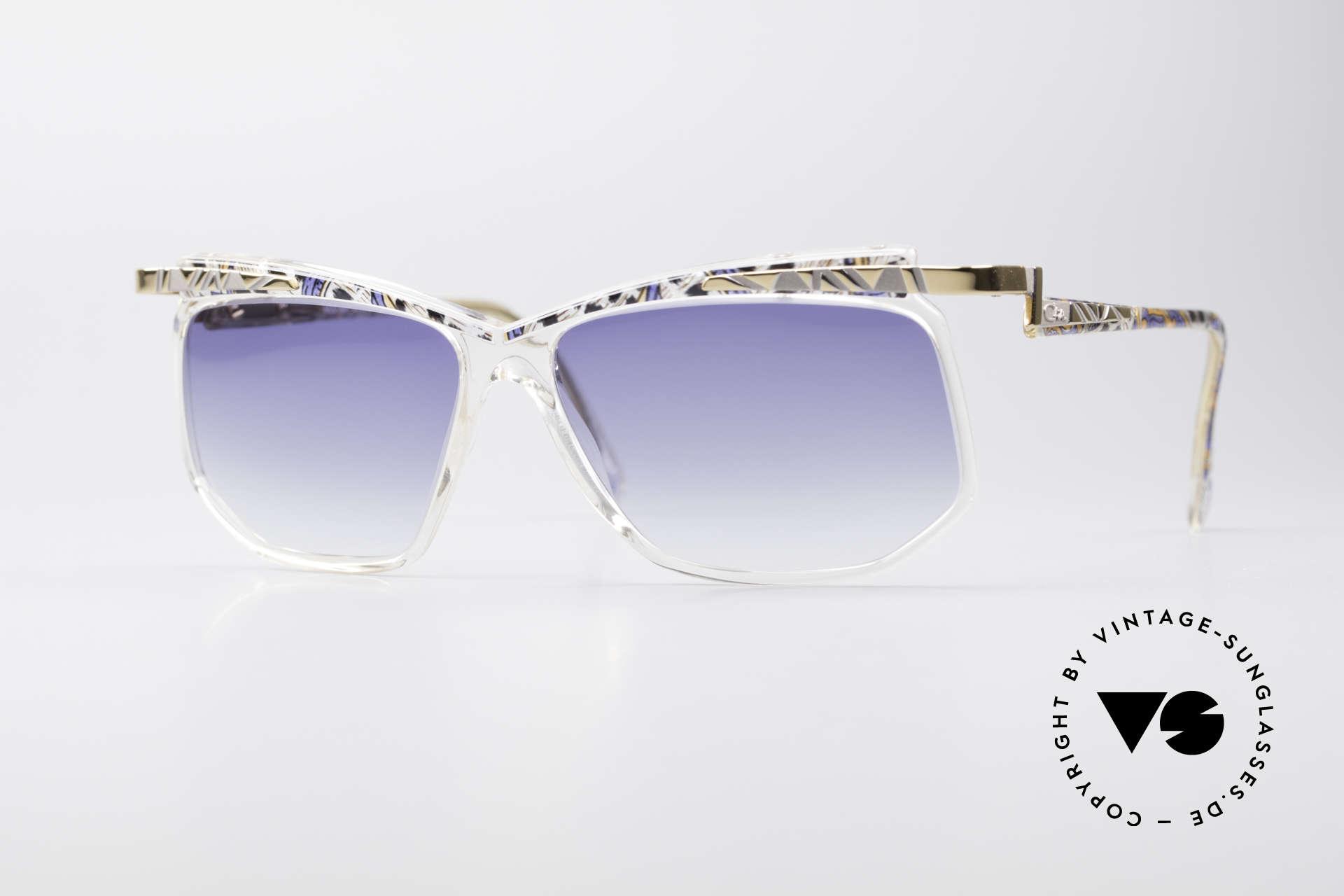 Cazal 366 Vintage Crystal Fassung 90er, vintage Sonnenbrille von CAZAL aus dem Jahre 1996, Passend für Herren und Damen