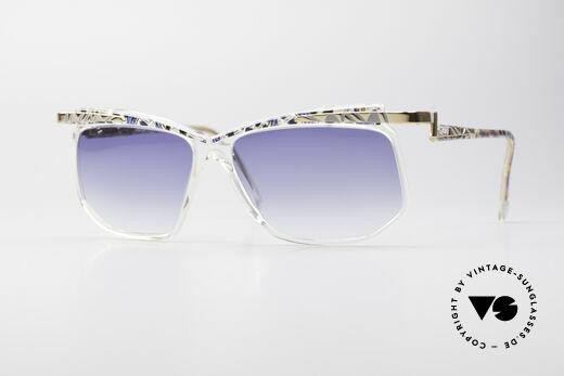 Cazal 366 Vintage Crystal Fassung 90er Details