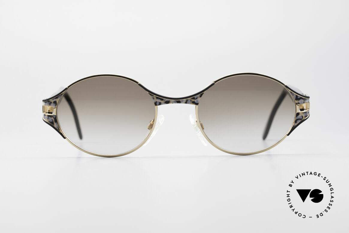 Cazal 281 Ovale Designer Sonnenbrille, CAZAL vintage Sonnenbrille aus den späten 90ern, Passend für Damen