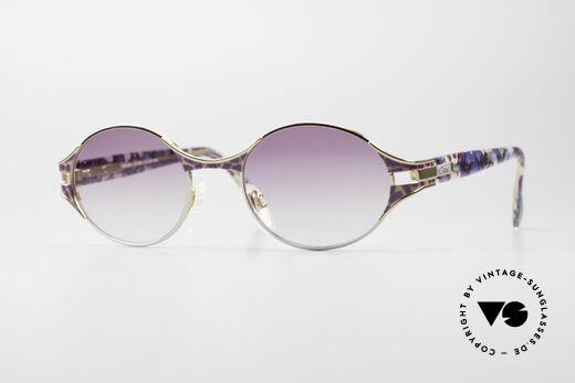 Cazal 281 Ovale Vintage Sonnnenbrille Details