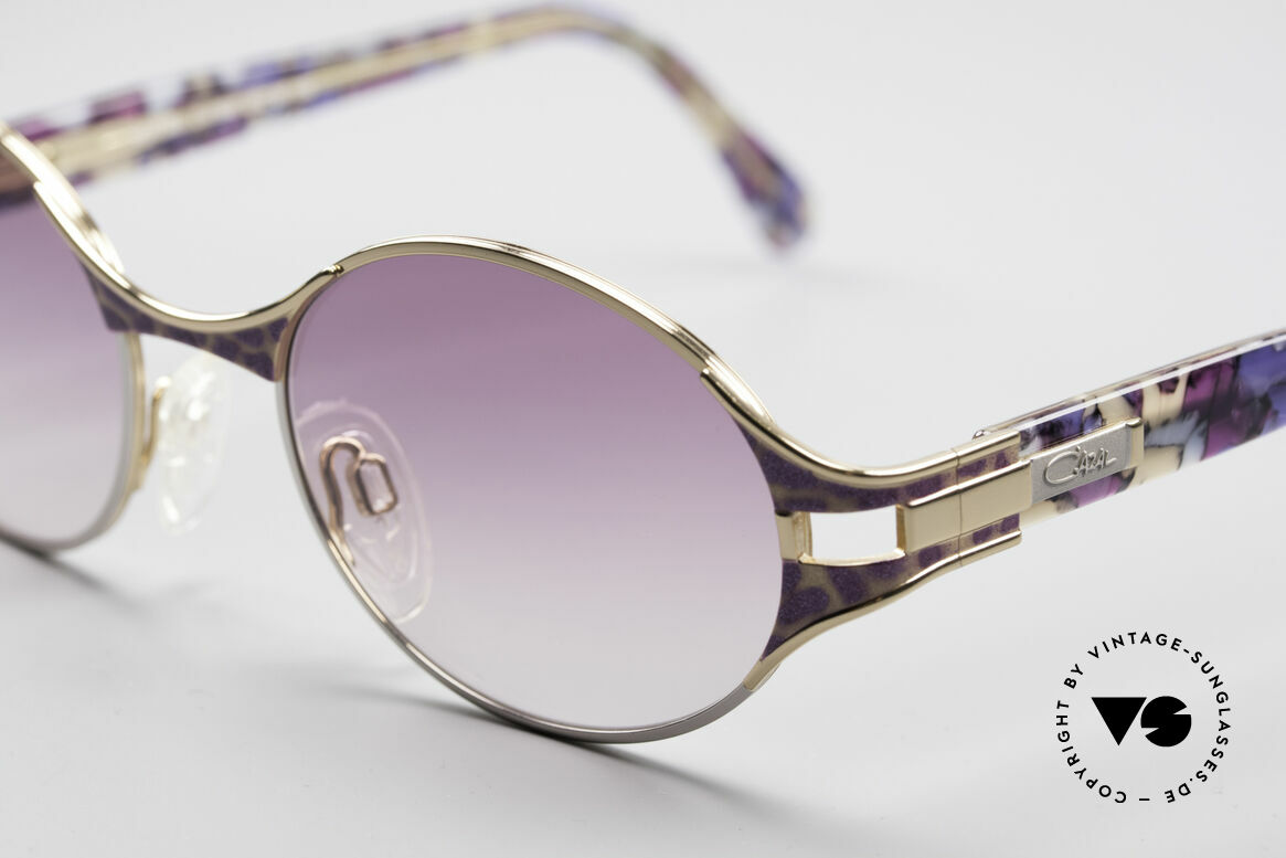 Cazal 281 Ovale Vintage Sonnnenbrille, ungetragene VINTAGE Brille in Premium-Qualität, Passend für Damen