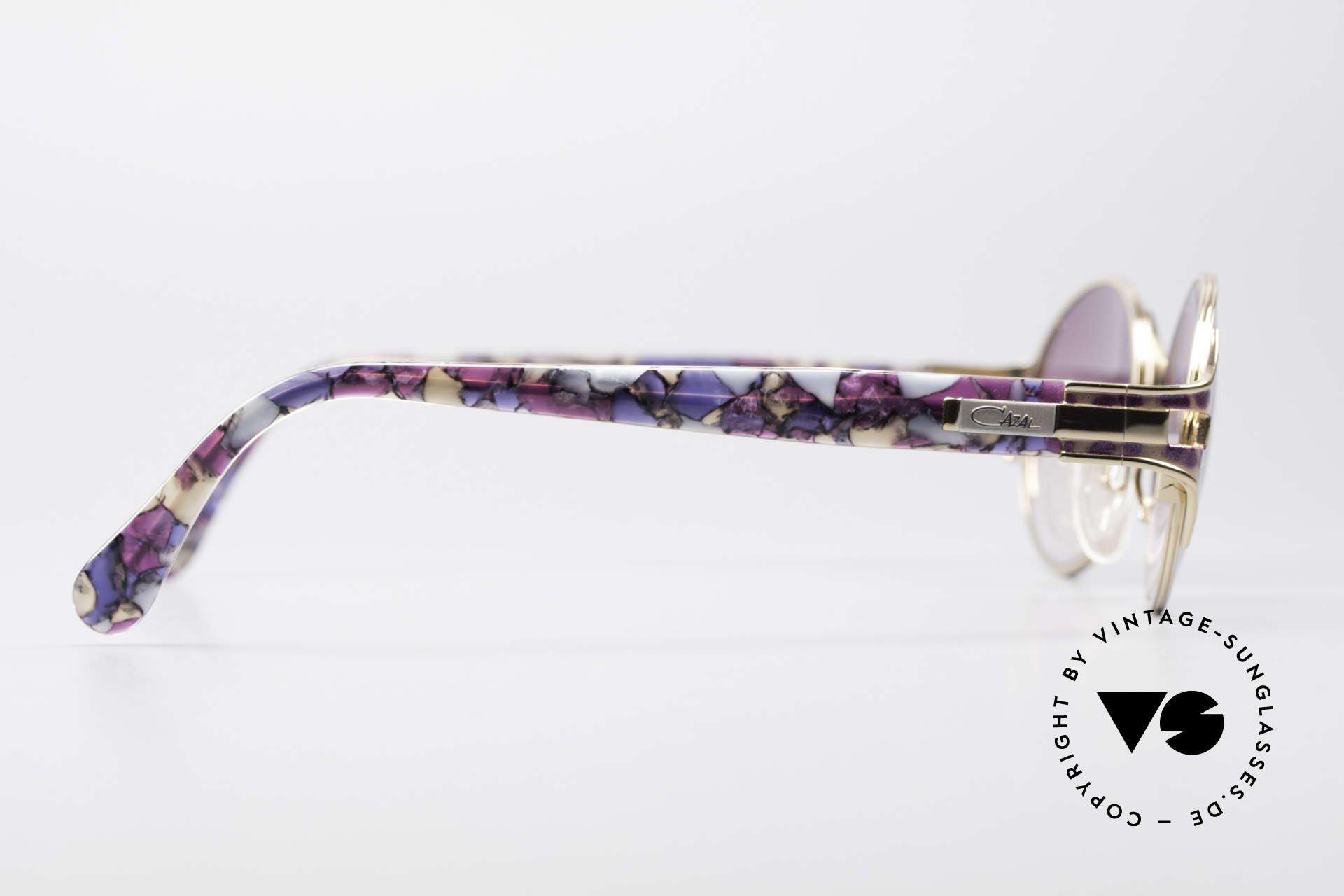 Cazal 281 Ovale Vintage Sonnnenbrille, KEINE Retrobrille; sondern ein 90er Jahre Original!, Passend für Damen