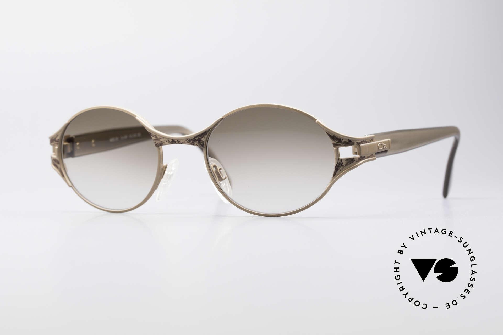 Cazal 281 90er Damen Sonnenbrille Oval, CAZAL vintage Sonnenbrille aus den späten 90ern, Passend für Damen