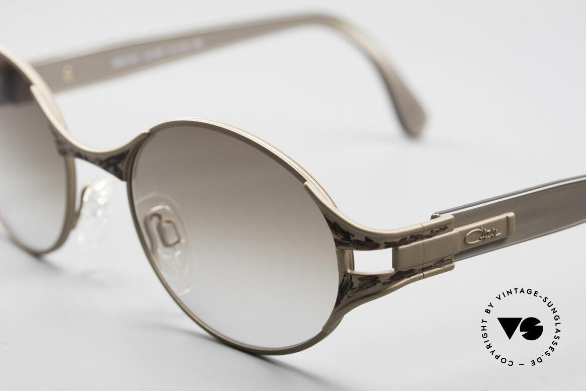 Cazal 281 90er Damen Sonnenbrille Oval, ungetragene VINTAGE Brille in Premium-Qualität, Passend für Damen