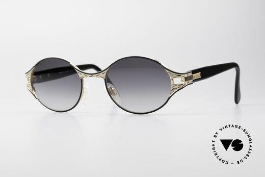 Cazal 281 Vintage Designer Brille Oval Details