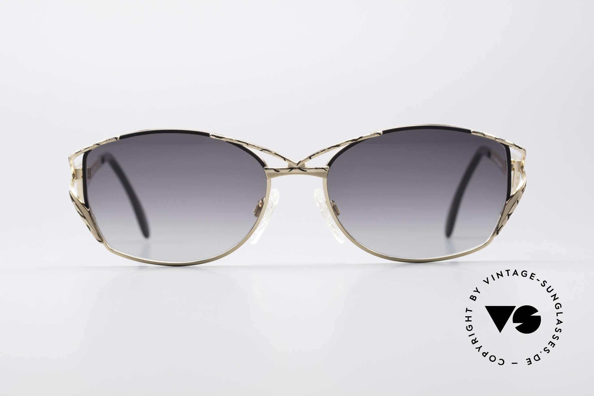 Cazal 284 Luxus Vintage Sonnenbrille, Designer-Sonnenbrille von CAri ZALloni (Mr.CAZAL), Passend für Damen