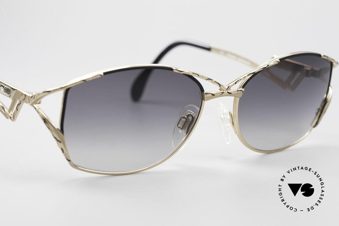 Cazal 284 Luxus Vintage Sonnenbrille, ungetragenes 'made in Germany' Modell; Größe 56-17, Passend für Damen