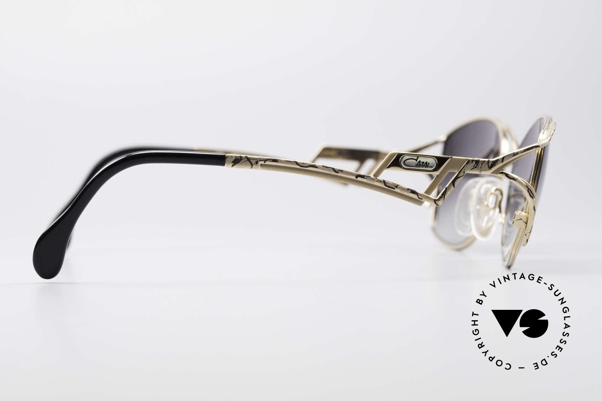 Cazal 284 Luxus Vintage Sonnenbrille, KEINE Retrobrille; ein 20 Jahre altes vintage Original, Passend für Damen