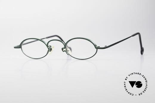 Theo Belgium Mikado Trendsetter Vintage Brille Details