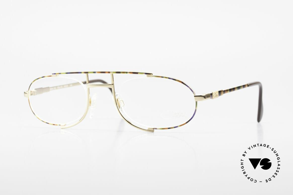Cazal 753 Rare 90er Designer Fassung, ovales vintage Brillengestell von CAZAL von 1992, Passend für Herren