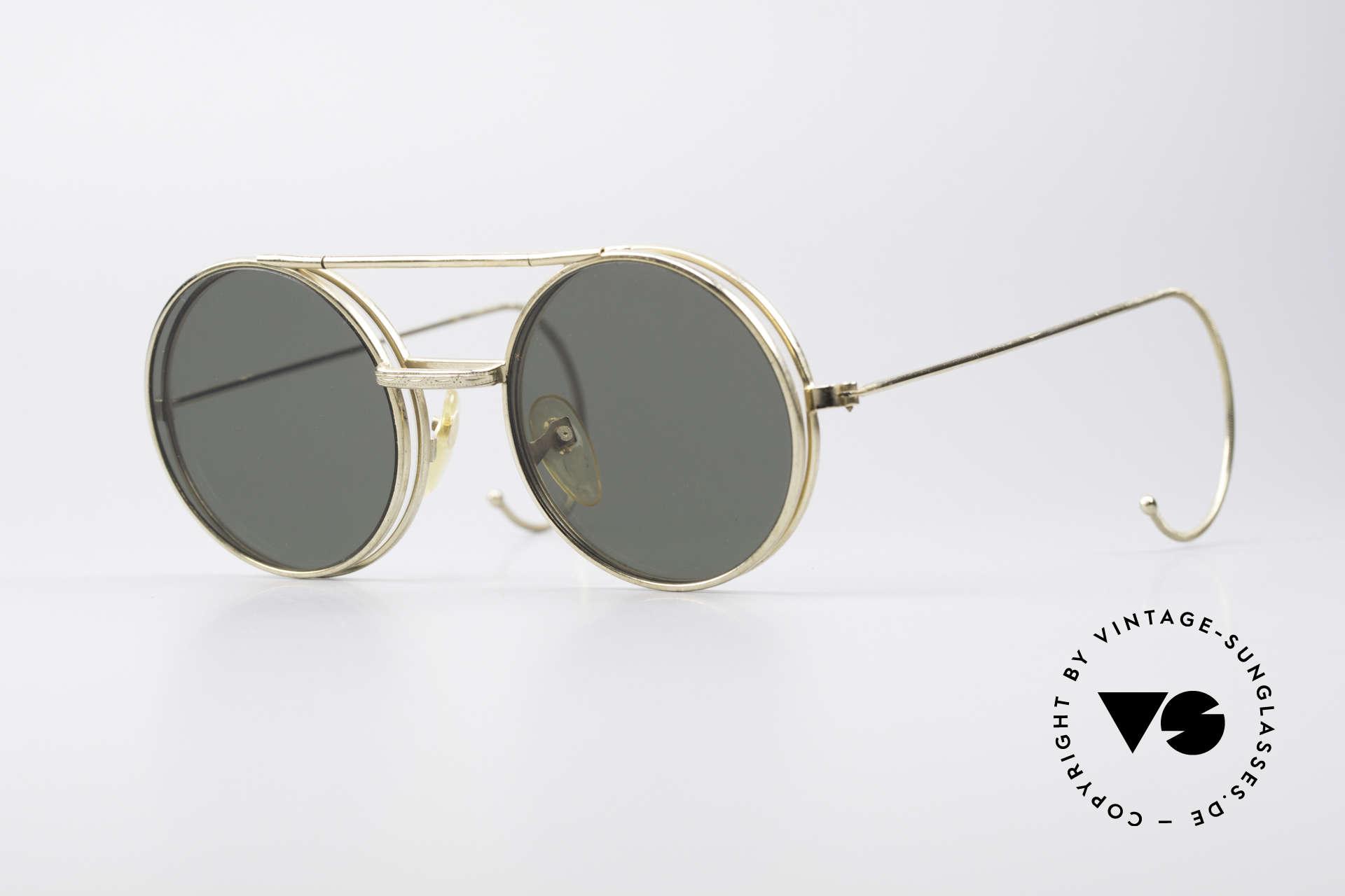 Django Unchained Kultige Filmsonnenbrille, alte vintage Sonnenbrille aus den 1960ern bzw. 1970ern, Passend für Herren