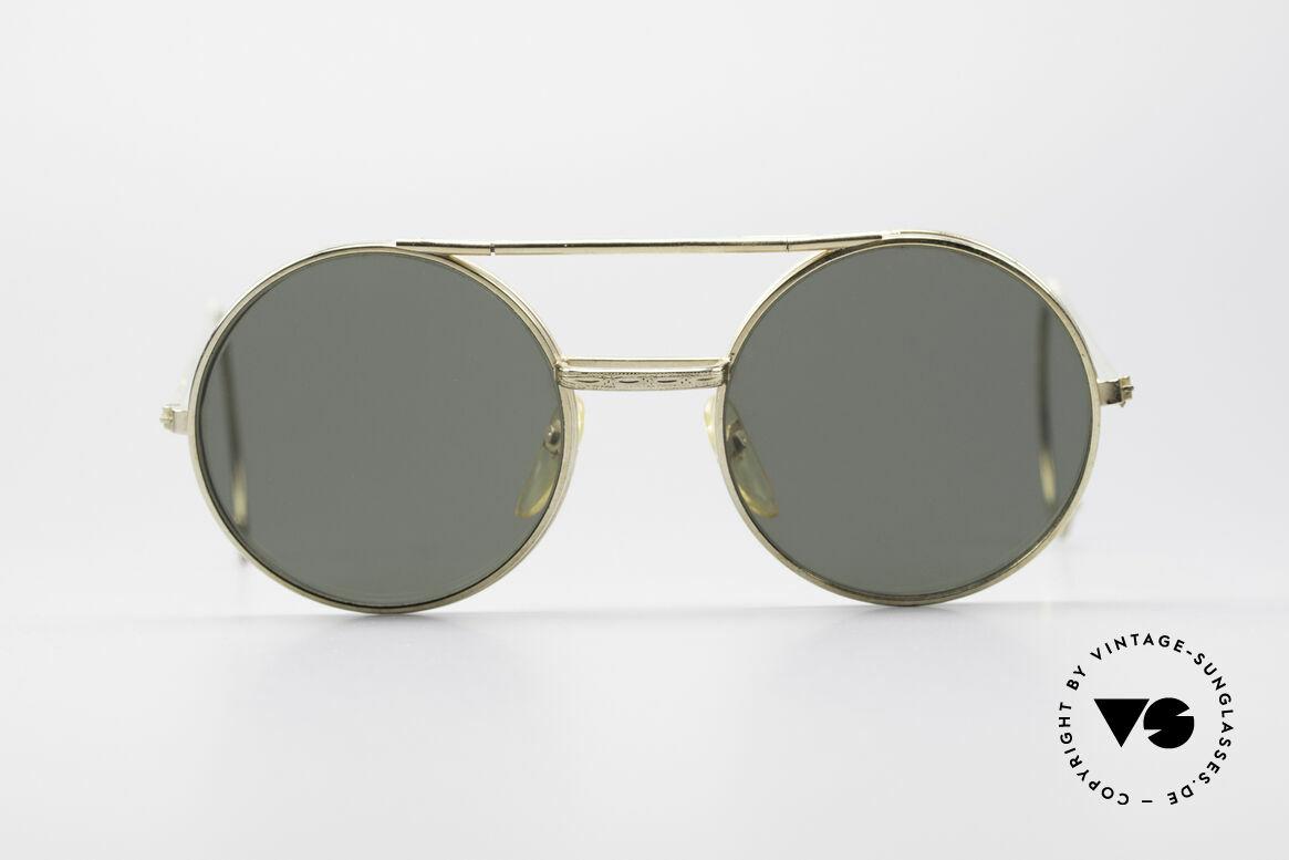 Django Unchained Kultige Filmsonnenbrille, urspünglich als Arbeitsbrille (Schweißerbrille) konzipiert, Passend für Herren