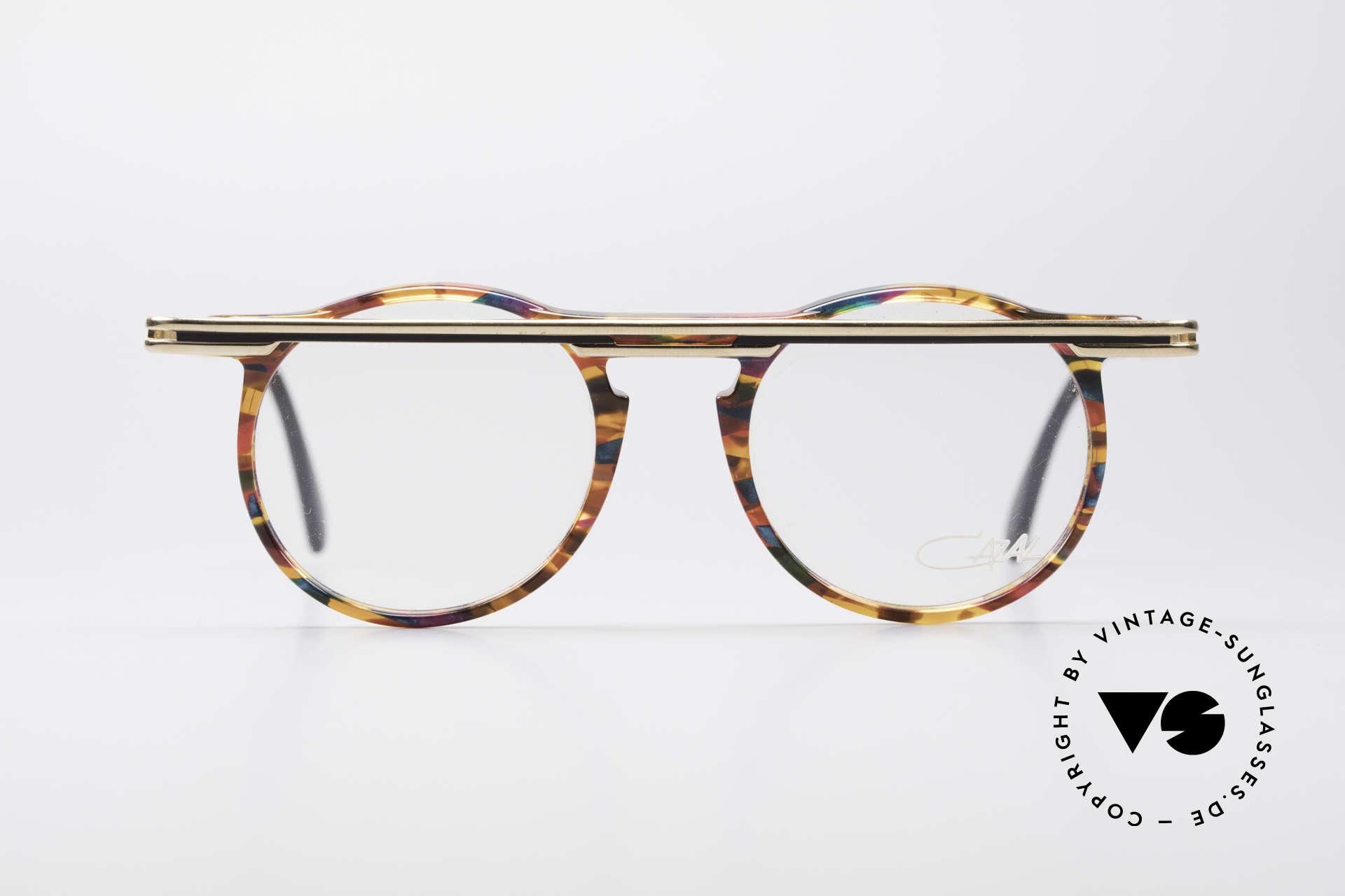 Cazal 648 Original Cari Zalloni Brille, vom Designer Cari Zalloni getragen (siehe Booklet), Passend für Herren und Damen