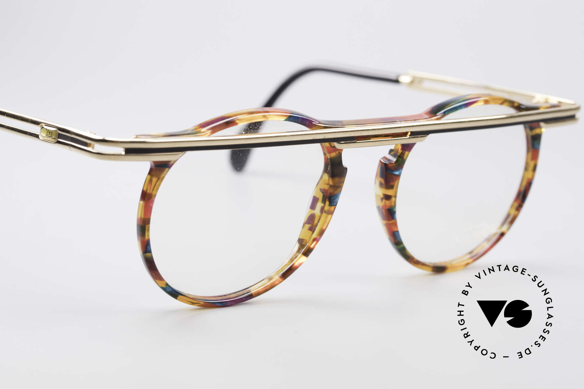 Cazal 648 Original Cari Zalloni Brille, ungetragen (wie alle unsere vintage Cazal Brillen), Passend für Herren und Damen